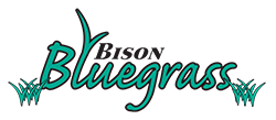Bison Bluegrass Logo – Hydroseeding Contraction in Buffalo, NY