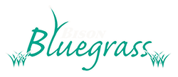 Bison Bluegrass, Hydroseeding Contractor, Buffalo, Logo